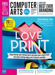 #Computer #Arts Magazine 239. #Love #print!