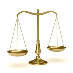 The scale represents Atticus's role as a lawyer and so he must be fair.