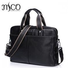 Famous Men Handbag Genuine Leather Bag Business Men Shoulder Bags Luxury Men Briefcase Laptop portfolio Bag Tote Travel bags