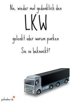 Parkmahner - LKW