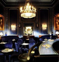 Bar of the Hotel Sacher Wien, Vienna, Austria