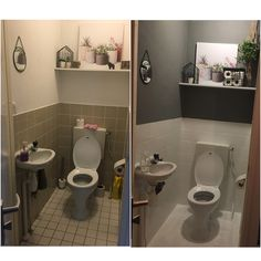 Toilet opgeknapt wc gepimpt