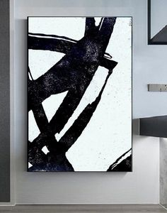Texture Art, Texture Painting, Modern Art, Contemporary Art, Modern Office Decor, Minimalist Painting, Black And White Abstract, Large Wall Art, Abstract Art