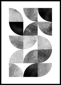 Circle pattern no 2 Poster in der Gruppe Poster / Größen und Formate / 50x70cm bei Desenio AB (3699)