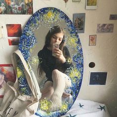Do you like Van Gogh? -sere @ watercolor Do you like Van Gogh? -sere @ watercolor Do you like Van Gogh? -sere @ watercolor Do you like Van Gogh? Mirror Painting, Mirror Art, Painting Art, Van Gogh Arte, Art Hoe Aesthetic, Aesthetic Painting, Aesthetic Grunge, Aesthetic Videos, Aesthetic Vintage