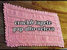 Crochetando com EuroRoma e Marcelo Nunes - Almofada de crochê - YouTube