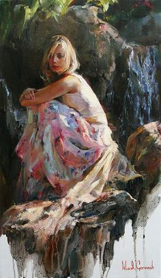 Michael & Inessa Garmash - Nymph of the Waterfall
