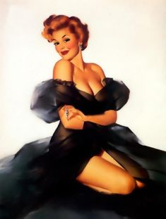 Pin-up girls from years gone by