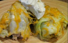 Simple Cabbage Enchiladas