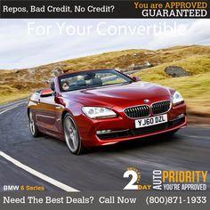 Guaranteed Credit Autos Convertible, New Drive, Bmw 6 Series, News, Best Deals, Car, Autos, Infinity Dress, Automobile