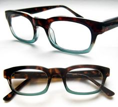 0990151fd0e Tommy Two Tone Hipster geek fade Reading Glasses Men Eyeglasses