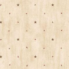 Brewster Wallpaper PUR09068 Ross Sand Star Sprig Toss