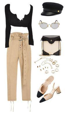 Образы с модными брюками. 2