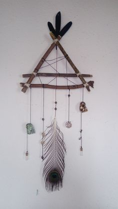 diy dream catcher Of love and fresh water / Nature Crafts, Home Crafts, Diy And Crafts, Crafts For Kids, Arts And Crafts, Diy Tumblr, Dream Catcher Craft, Diy Dream Catcher For Kids, Diy Art