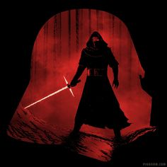 A New Dark Force - Kylo Ren Shirt at shirtpunch.com  Star Wars, Darth Vader, The Force Awakens