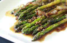 Spicy Sesame Asparagus