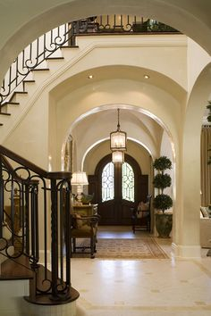 I Love Unique Home Architecture. Simply stunning architecture engineering full of charisma nature love. The works of architecture shows the harmony within. Home Interior, Interior Design, Entry Hallway, Entryway, Entry Doors, Front Doors, House Rooms, My Dream Home, Custom Homes