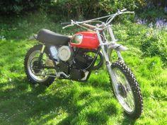 Husqvarna 1973 WR 250 Enduro Motocross Vintage VMX Twinshock Cross Husky