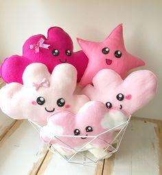 Mandje vol roze plushies #kawaii