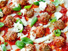 Kjøttboller til pizza eller pasta
