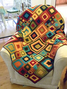 Babette blanket - great color