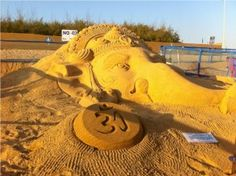 The first of its kind exhibition titled, 'Imaginations in Sand' is going to be held in the city from the 14th to 17th of April showcasing around 100 pieces of sand art photographs printed on canvas, some of the highly acclaimed sand sculptures made by renowned international sand artist Shri