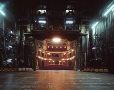 Unseen Side of Theaters Photography – Fubiz Media