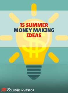 Saving money can be hard, especially for todays college students. Here are 15 Summer Money Making Ideas For College Students, that will make it that much easier! Cash From Home, Make Money From Home, Way To Make Money, Make Money Online, Earn Extra Cash, Making Extra Cash, Creating Passive Income, Summer Jobs, Earn More Money
