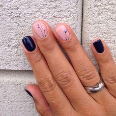 "2,760 Likes, 1 Comments - Маникюр / Ногти / Мастера (@nail_art_club_) on Instagram: ""#Repost @maysternya_vk ・・・  мастер Марина  #minimalism #geometry #достойные#другие#MVK#думай…"""