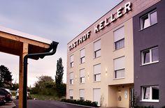 Derenko Design//architecture//Gasthof Keller//Gumpoldskirchen//hospitality//wood//fertighotel//hotel