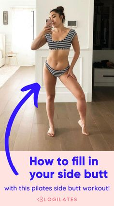 Fill out your hip dips and side butt with this pilates legs workout and hips routine from Blogilates! Beginner Pop Pilates Routine! Song Challenge, Workout Challenge, Workout Inspiration, Fitness Inspiration, Pop Pilates, Hips Dips, Blogilates, Butt Workouts, Workout Aesthetic