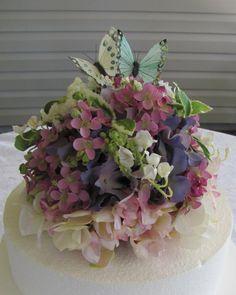Wedding Cake Topper Spring Butterflies By Flowerfilledweddings Pretty For A