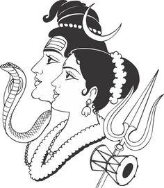 Buddha Drawing, Ganesha Drawing, Art Drawings Beautiful, Art Drawings Sketches Simple, Wedding Drawing, Free Business Card Design, Bird Stencil, Shiva Art, Pen Art