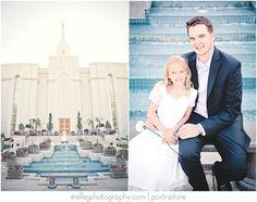 bountiful temple wedding photos - Google Search