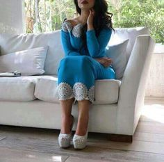 Kameez Home Outfit, Prom Dresses, Formal Dresses, Traditional Dresses, Dame, Capri Pants, Velvet, Heels, Outfits