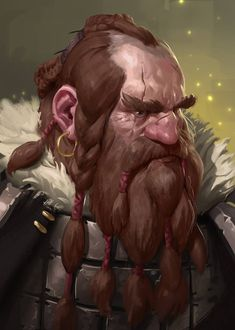 Skin made of Iron by Prospass dwarf beard | NOT OUR ART - Please click artwork for source | WRITING INSPIRATION for Dungeons and Dragons DND Pathfinder PFRPG Warhammer 40k Star Wars Shadowrun Call of Cthulhu and other d20 roleplaying fantasy science fiction scifi horror location equipment monster character game design | Create your own RPG Books w/ www.rpgbard.com