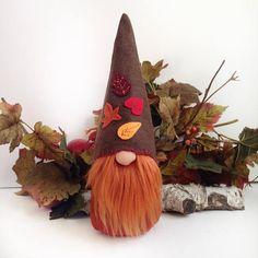 Gnome made of FELT.