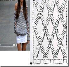 Crochet Jersey Stitch : about crochet tops & blouses on Pinterest Crochet tops, Crochet ...