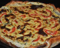 Receita de Quiche de Bacalhau e Legumes .:. Kitchenet .:. Livro de culinária do aeiou
