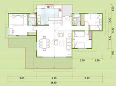 Simple House, Traditional House, Ideas Para, House Plans, Home Improvement, Sweet Home, Floor Plans, Cottage, Layout