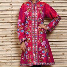 0f38cdff89c Luxurious women coat authentic cashmere pink color - Thumbnail 5
