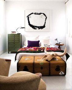 Binnenkijken in een eclectisch appartement in Madrid / www.woonblog.be