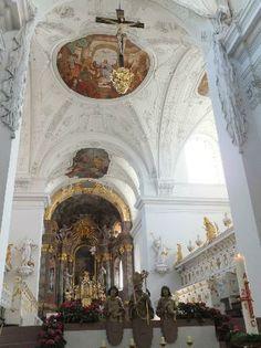 Neumuenster Church, Wurzburg, Germany