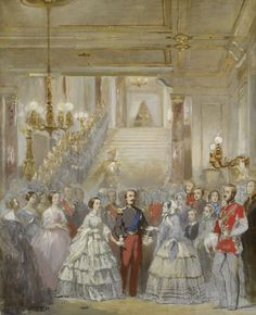 The Reception of Queen Victoria by Napoleon III at St Cloud, 18 August 1855