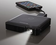 Brookstone-HDMI-Pocket-Projector