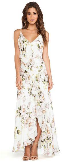 Falling Petal Gown