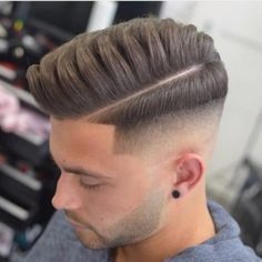 Textured Side Part + Taper Fade #haircut #menshairstyles #sidepart #taperfade