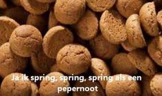 Liedje: En ik spring spring spring als een pepernoot Most Favorite, Favorite Holiday, School Themes, Primary School, December, Food And Drink, Drama, Homeschooling, Kids
