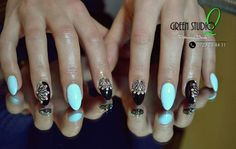See photos, tips, similar places specials, and more at Green Studio Professional Beauty Nailart, Turquoise, Studio, Green, Beauty, Beauty Illustration, Study