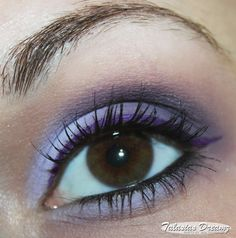 technic Gel-Eyeliner – electric blue und purple | Talasias Dreamz